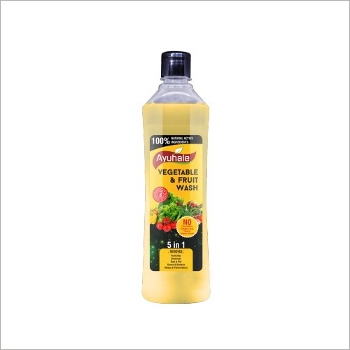 Vegetables and Fruits Wash Removes Chemicals and Pesticides