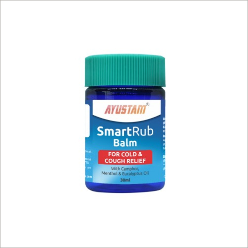 Smartrub Balm For Cold And Cough Relief