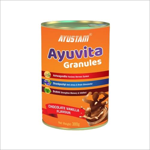 300gm Chocolate And Vanilla Flavor Protein Powder Granules
