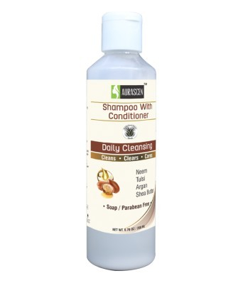 Daily Shampoo With Conditioner With Neem Tulsi Argan and Shea Butter