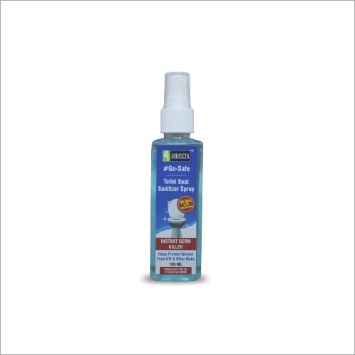 Go Safe Toilet Seat Sanitizer Spray