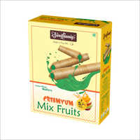 Mix Fruit Creamy Wafer Sticks