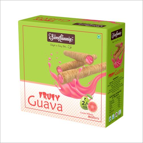 Fruty Guava Creamy Waffer Sticks