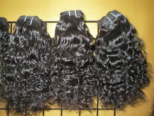 MANUFACT RAW INDIAN HUMAN LOOSE CURLY HAIR