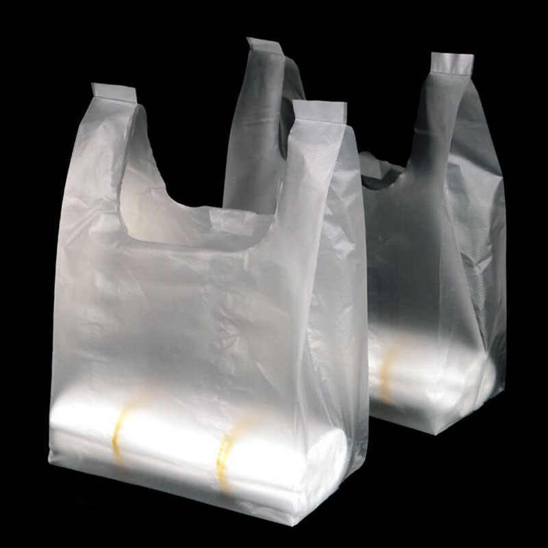 GARNET PLASTIC CARRY BAGS