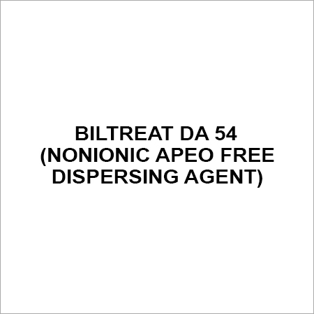 BILTREAT DA 54 NONIONIC APEO FREE DISPERSING AGENT