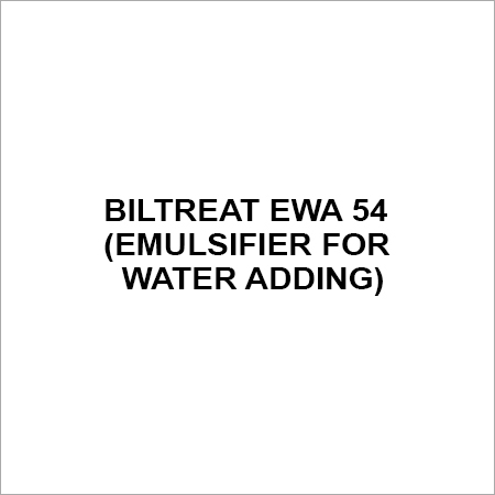 BILTREAT EWA 54 (EMULSIFIER FOR WATER ADDING)