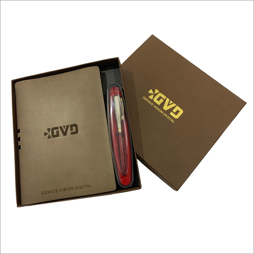 Designer Notebook Pen with Box