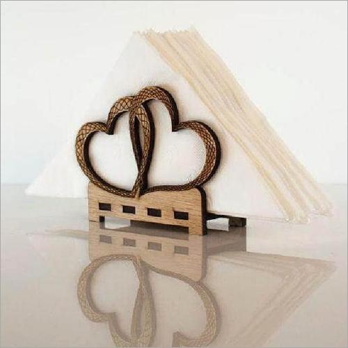 Designer Wooden Napkin Stand