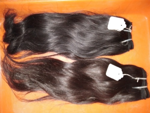 Raw Ponytails Wavy Human Hair