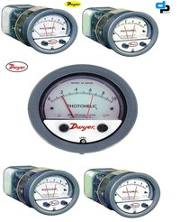 Dwyer A3000-00 Photohelic Pressure Switch Gauge