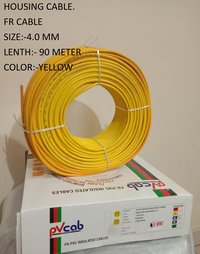 ELECTRIC CABLE 4.00 BLUE RED YELLOW GREEN BLACK