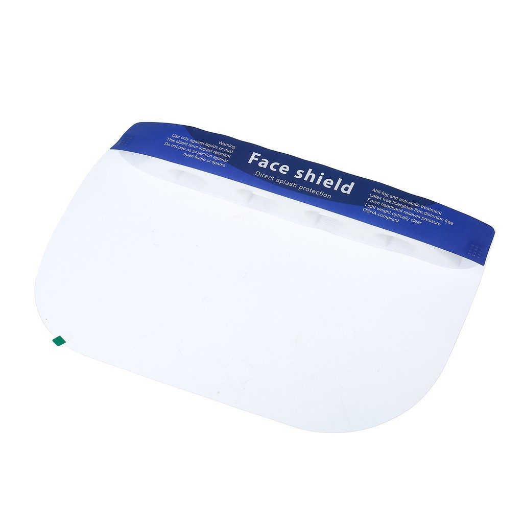 Reusable Protective Full Face Shield Anti Fog Safety Visor Eye Face Cover Protective Shields