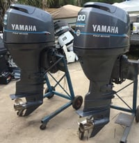 USED outboard YAMAHA 300 HP V6 4.2L Outboard Motors