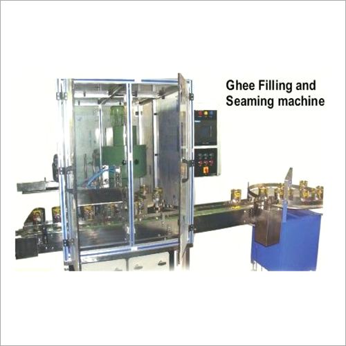 Automatic Ghee Filling And Seaming Machine