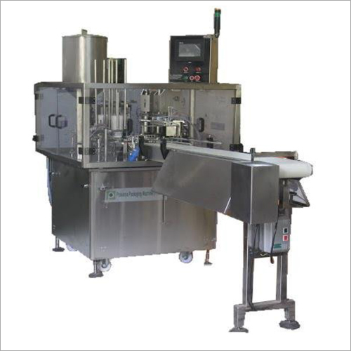 Automatic Rotary Type Double Head Cup Filling And Sealing Machine (Model 2-6-R)