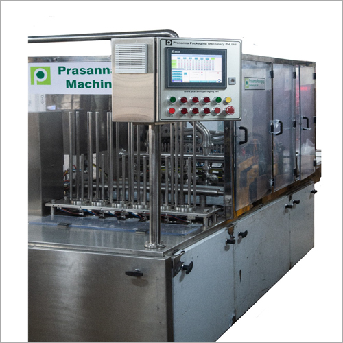 Six Head Cup Filling And Cup Sealing Machine