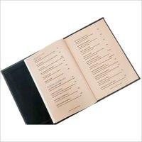 Leatherite Restaurant Menu