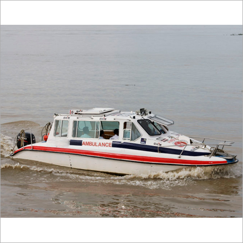8 Seater Ambulance Boat