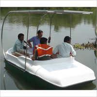 4 Seater Solar Boat
