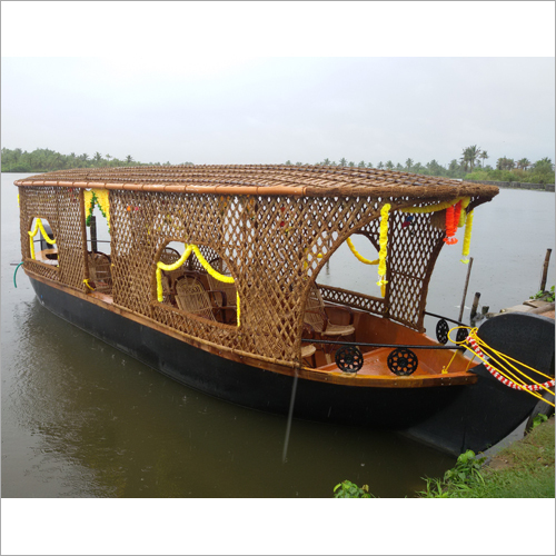Wooden Shikara Boat