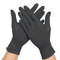 Pink Disposable Breathable Sterile Surgical Medical Exam Dental Nitrilo Hand Nitrile Gloves