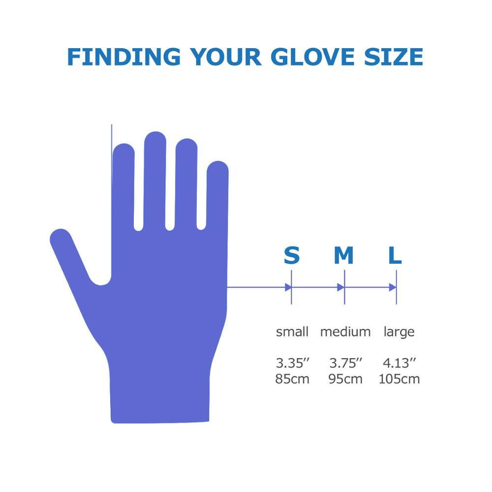 Powder-Free Disposable Gloves Nitrile Medical Exam Gloves