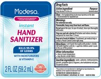 sanitizer label