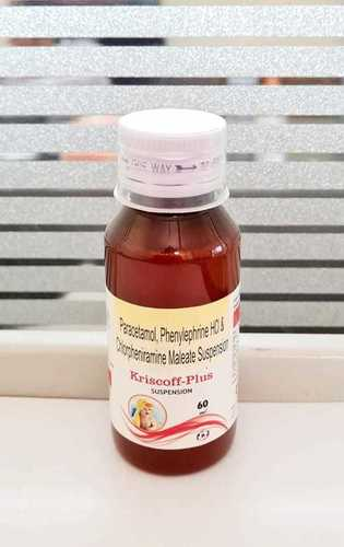 Paracetamol Phenylephrine Hci And Chlopheriamine Maleate Suspenssion