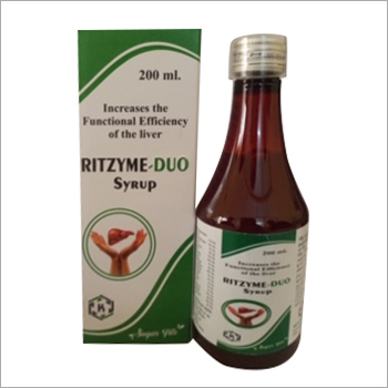 200 ml Increase The Functional Efficiency Liver Syrup