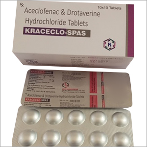 Aceclofenac And Drotaverine Hydrochloride Tablets