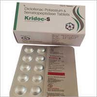 Diclofenac Potassium And Serratiopetidase Tablets
