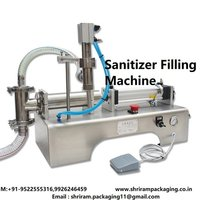 Sanitizer Filling Machine