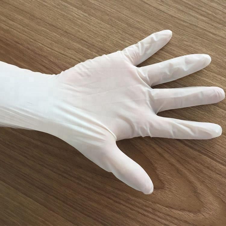 Medical Natural Latex Surgical Hand Gloves Vinyl Gloves Medical Gloves