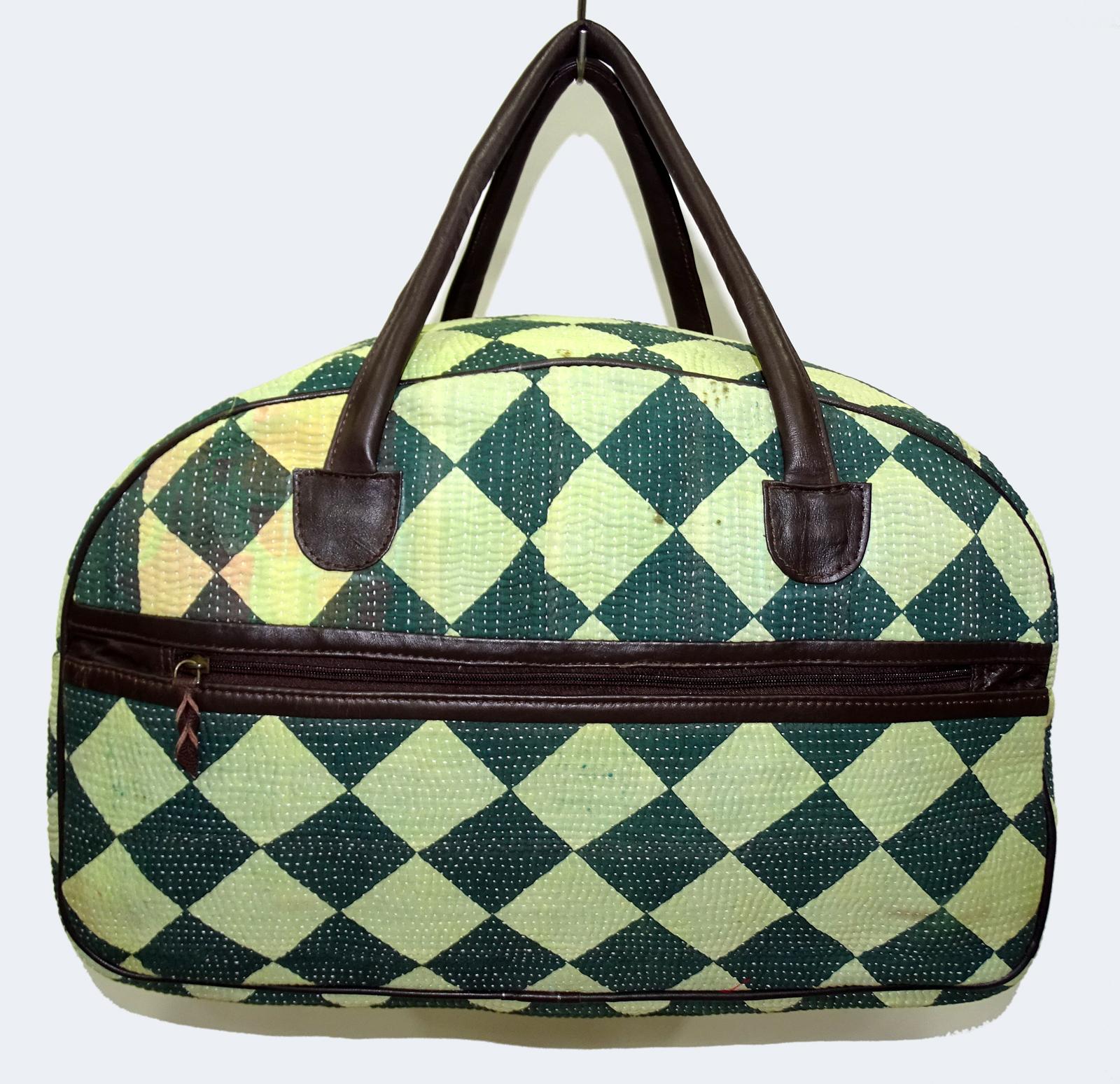Vintage Kantha Bowling Bags