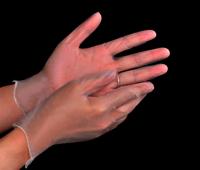 PVC Gloves Disposable Safety Medical Examination Vinyl gloves