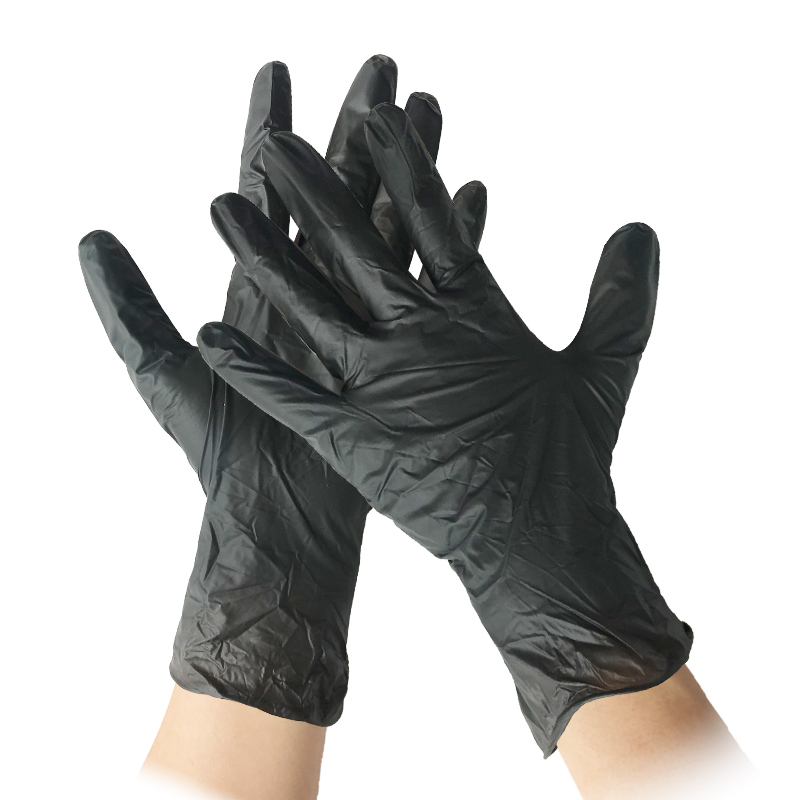 disposable powder free&powder vinyl pvc latex gloves/medical disposable