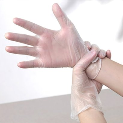 Sterile Surgical Food Medical Examination Disposable Powder Free Vinyl Gloves Age Group: Suitable For All Ages