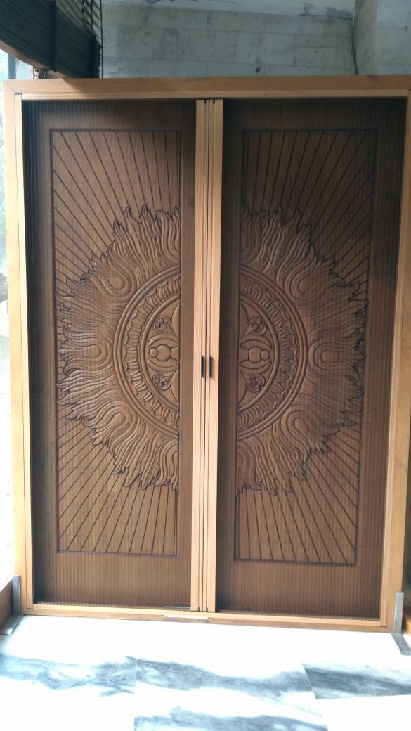 Double Panel Pleated Screens