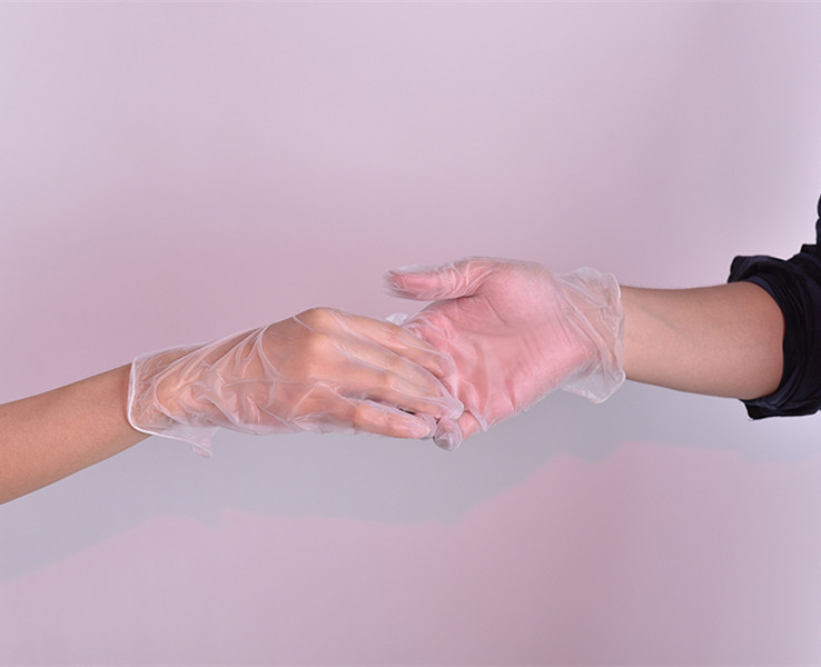 PE / PVC/ vinyl /nitrile latex examination gloves