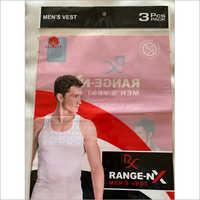 Men's Vest Packaging Pouch