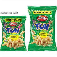 KutKut-Fun Green Pudina Flavor Snacks