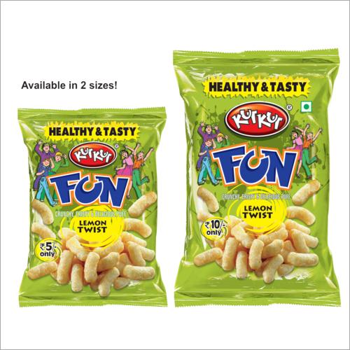 KutKut-Fun Lemon Twist Flavor Snacks