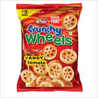Crunchy Wheels Tangy Tomato Snacks