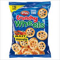 Crunchy Wheels Mast Masala Tomato Snacks