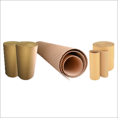 Corrugated Brown Paper Roll