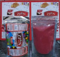 Zion Red Dry Color