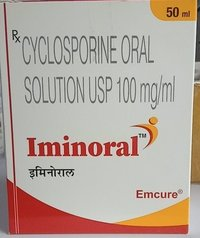 Iminoral 100 Capsule (Cyclosporine (100mg) - Emcure Pharmaceuticals Ltd)