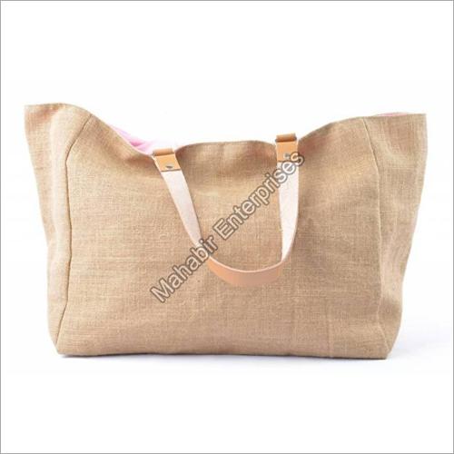 Light Brown Jute Shoulder Bags
