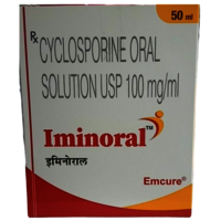 Iminoral Oral Solution (Cyclosporine (100mg/ml) - Emcure Pharmaceuticals Ltd)